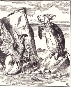 """""""Once, said the GOP Leader at last, with a deep sigh, """"I was a real Republican."""" With apologies to Alice In Wonderland."""