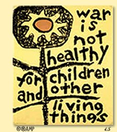War is not healthy